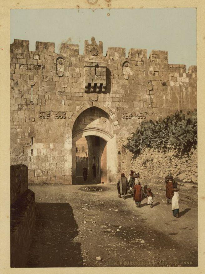 Az oroszlános kapu, Jeruzsálem