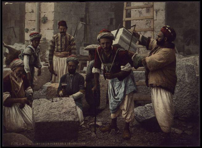 Kőhordók Jeruzsálemben