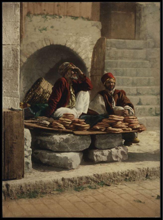 Pitaárusok Jeruzsálemben