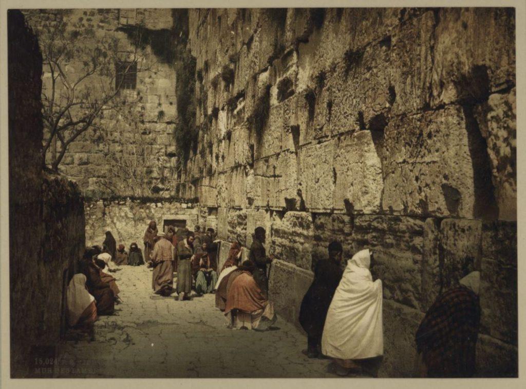 Különleges színes fotókon Izrael földje a 20. század kezdetén