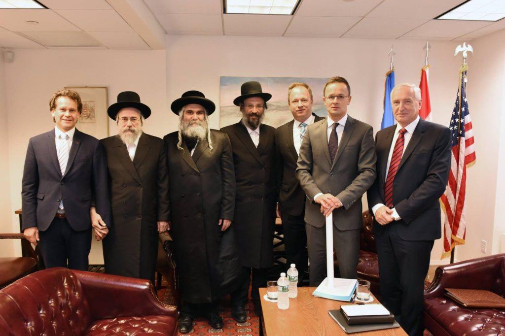 Végre előkerültek az Orbán mellett kiálló New York-i rabbik