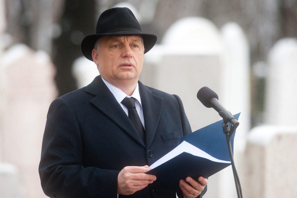 Orbán szerint valamilyen külső fenyegetéssel szembeni önvédelem köti össze a zsidóságot a kormánnyal