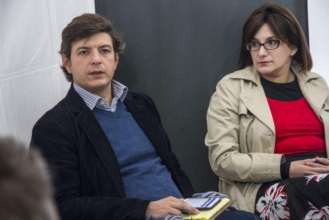 Büchler András és Steiner Zsófia (Fotó: Hajmási Péter)