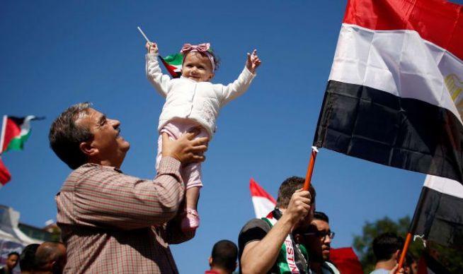 Palesztinok ünneplik a megállapodást a Gázában