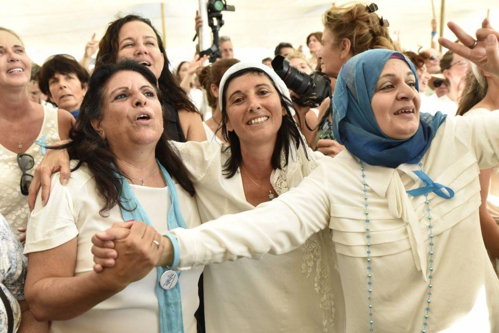 Izraeli és palesztin nők vonultak együtt békét követelve