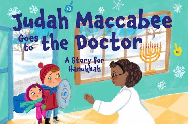 A Júda Makkabi orvoshoz megy című könyv borítója