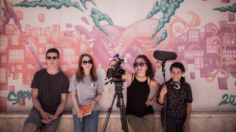 Először volt magyar résztvevője egy nemzetközi filmes programnak Izraelben