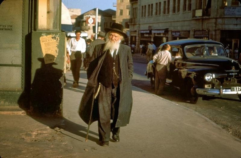 Izrael színes fotókon az ötvenes években