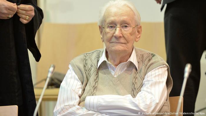 Nem akar börtönbe vonulni az auschwitzi náci