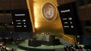 Az ENSZ közgyűlése már el is ítélte Trump Jeruzsálemmel kapcsolatos bejelentését