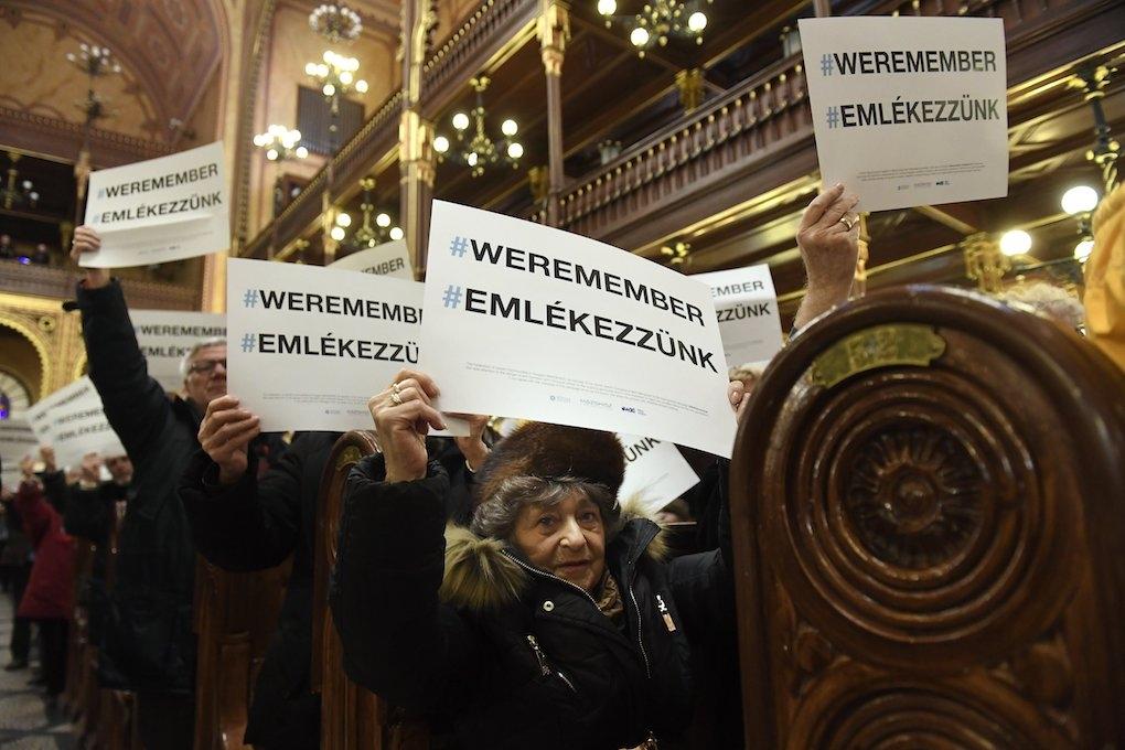 A budapesti gettó felszabadításának évfordulója alkalmából ütközött egyet a Mazsihisz és az EMIH