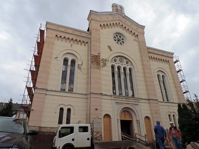 Európa egyik legszebb zsinagógája újul meg Miskolcon