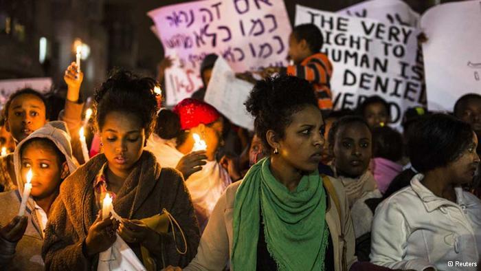 Eritreai menekültek Izraelben