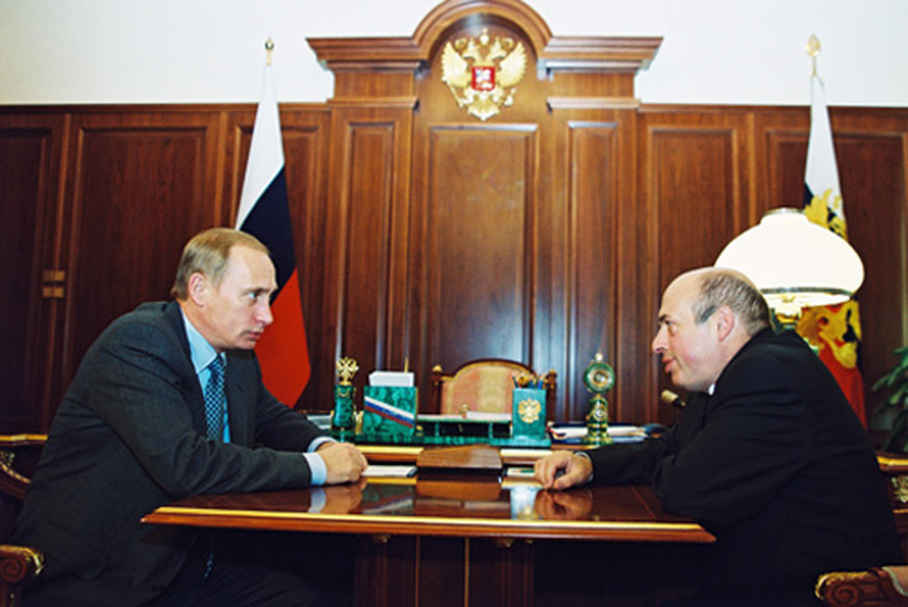 Natan Saranszki Vlagyimir Putyinnal tárgyal