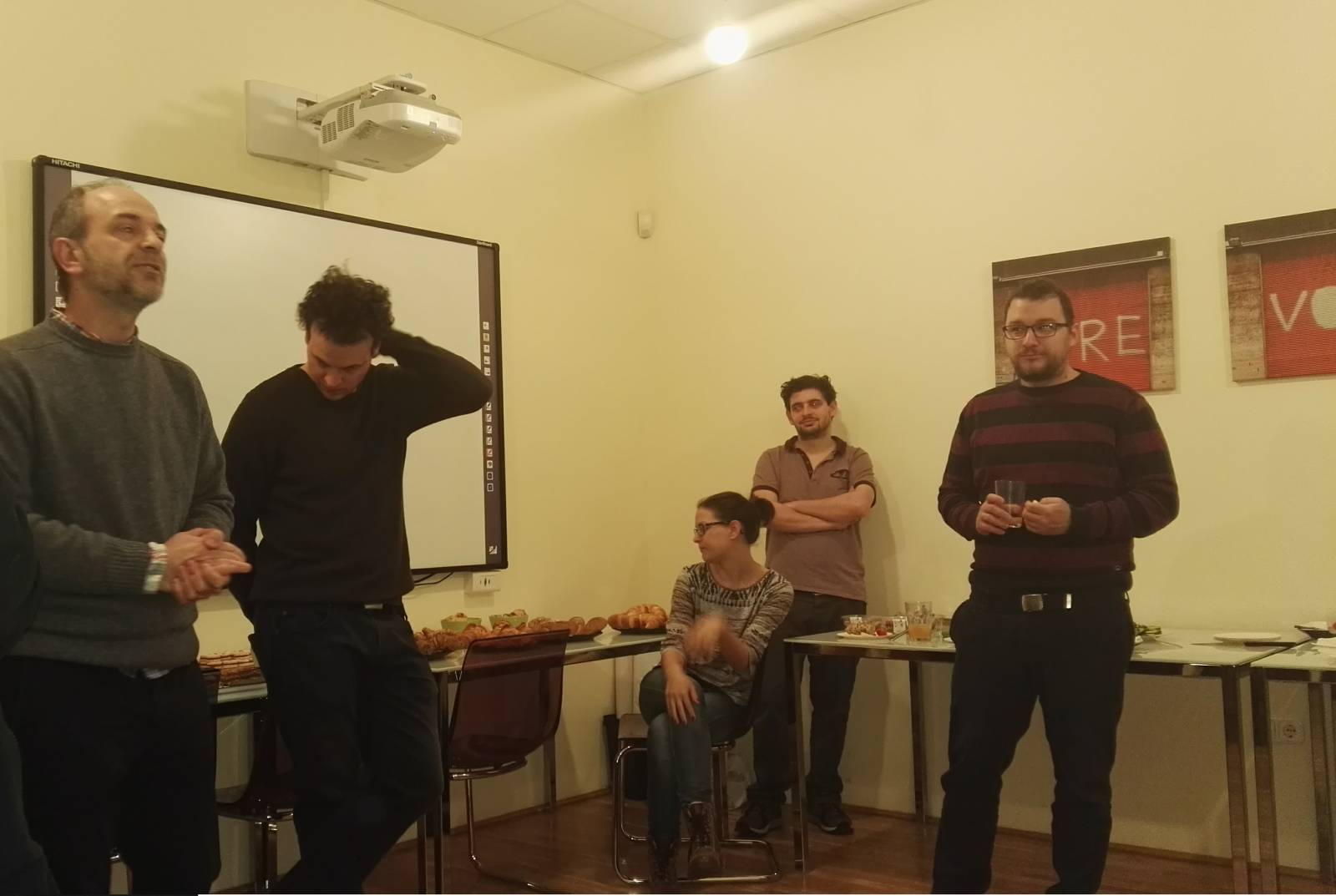 Mircea Cernov, Tordai Bence, Pál Bori, Neumann Péter