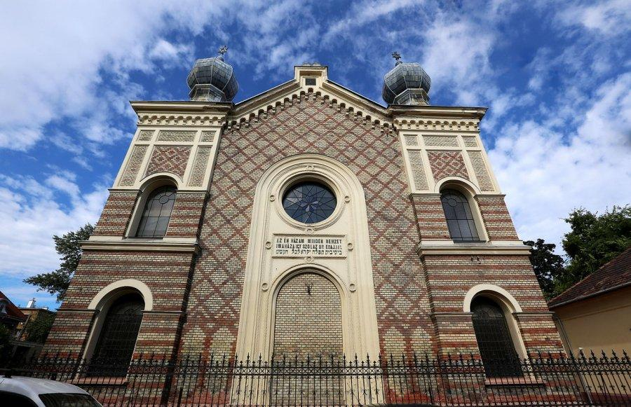Az újpesti zsinagóga