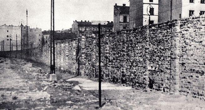 A varsói gettó fala