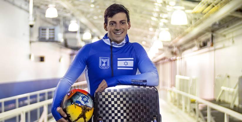 Egy zsidó srác Bostonból, aki elhatározta, hogy Izraelt fogja képviselni a téli olimpián