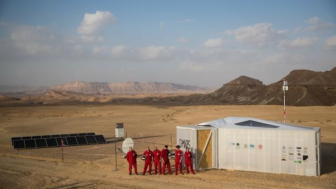 A csapat és a D-MARS állomás