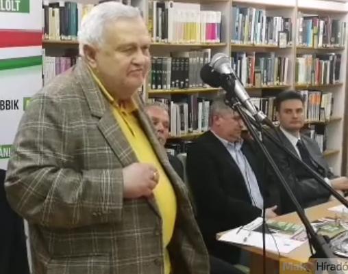 A Jobbikot támogató Erdélyi Miklós