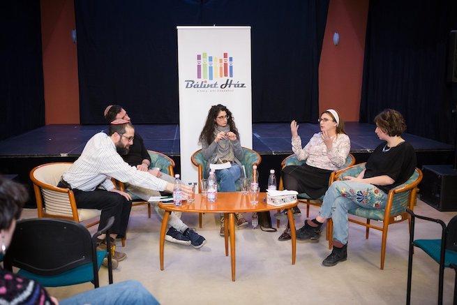 MeToo kerekasztal-beszélgetés a Bálint Házban (Fotó: Mayer András/facebook.com/talmud.not.only.for.women)