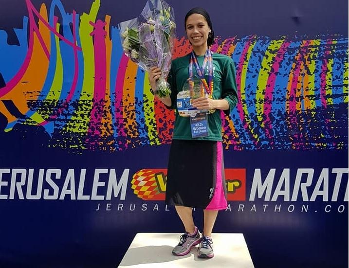 Izrael leggyorsabban futó nője vallásos, 5 gyerekes anya