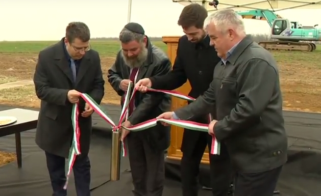 Európai kóser logisztikai központ épül Magyarországon