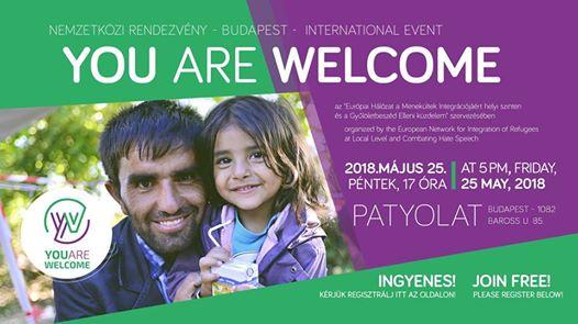 You Are Welcome – nemzetközi esemény – international event