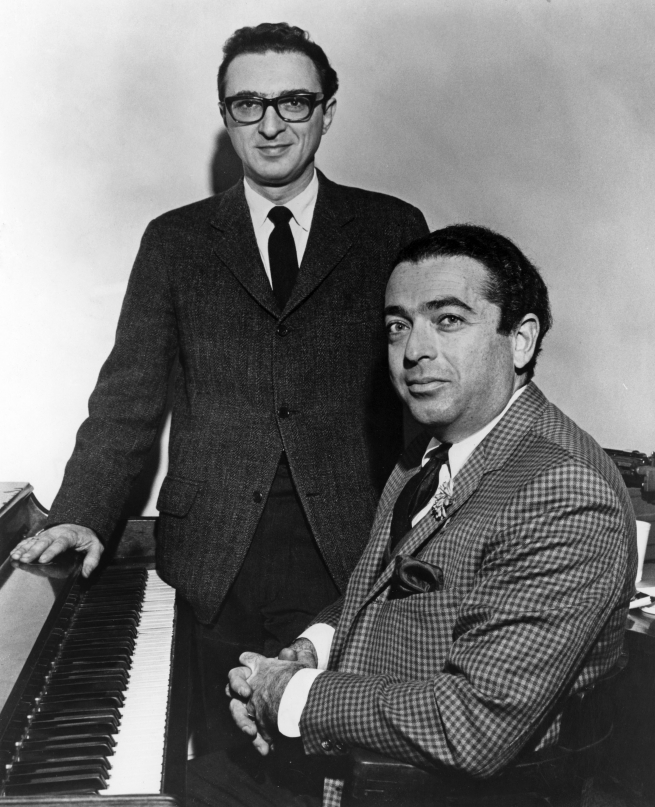 Sheldon Harrick dalszövegíró és Jerry Bock zeneszerző