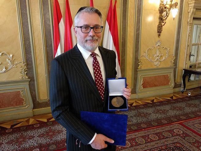 Szalai Kálmán (Fotó: facebook.com/TEVAlapitvany)