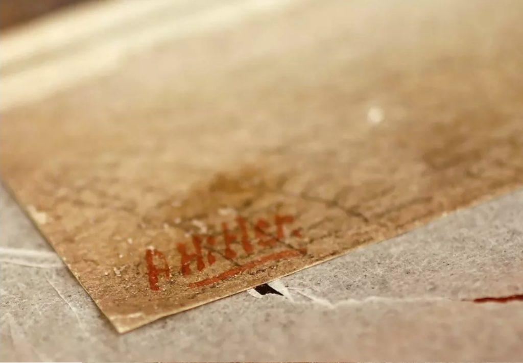 Aukcióra kerül Hitler festménye Németországban