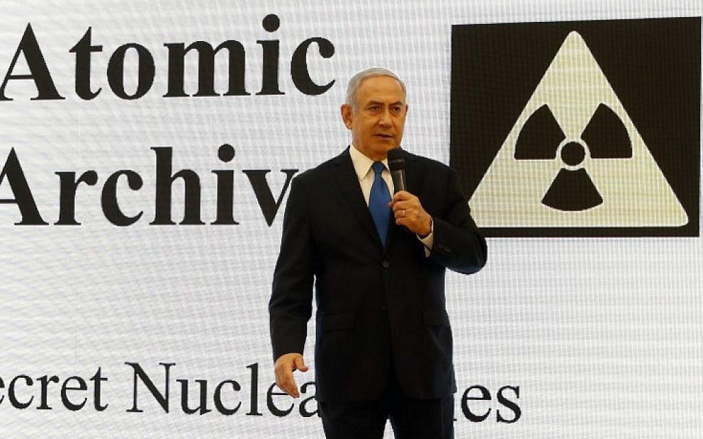 Netanjahu előadása az iráni atomprogramról elsősorban Donald Trumpnak szólt