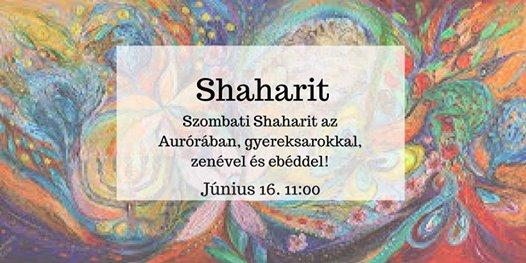 Shaharit – Közös szombatozás