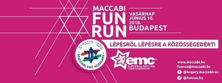 Maccabi VAC Fun Run Budapest – a kedvenc közösségedért!