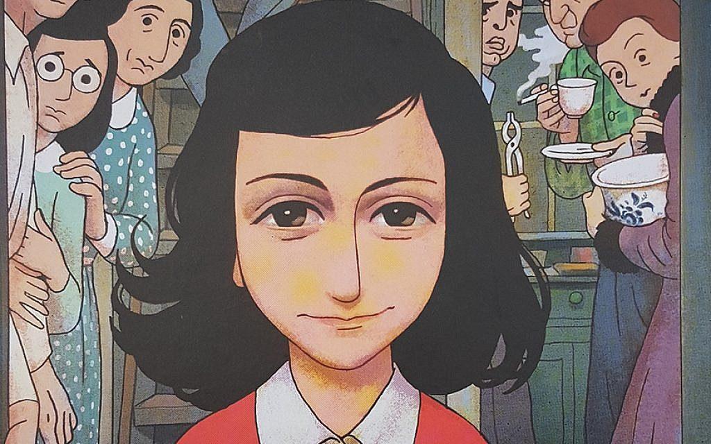 Egy kamaszlány ébredő szexuális érdeklődése az Anne Frank képregényben