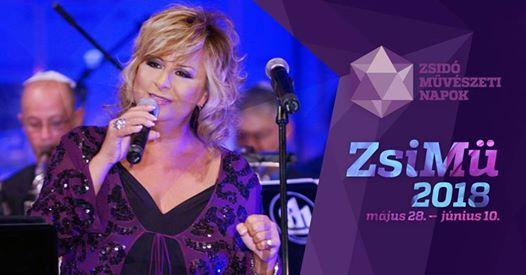 Szulák Andrea és a Budapest Ragtime Band koncertje