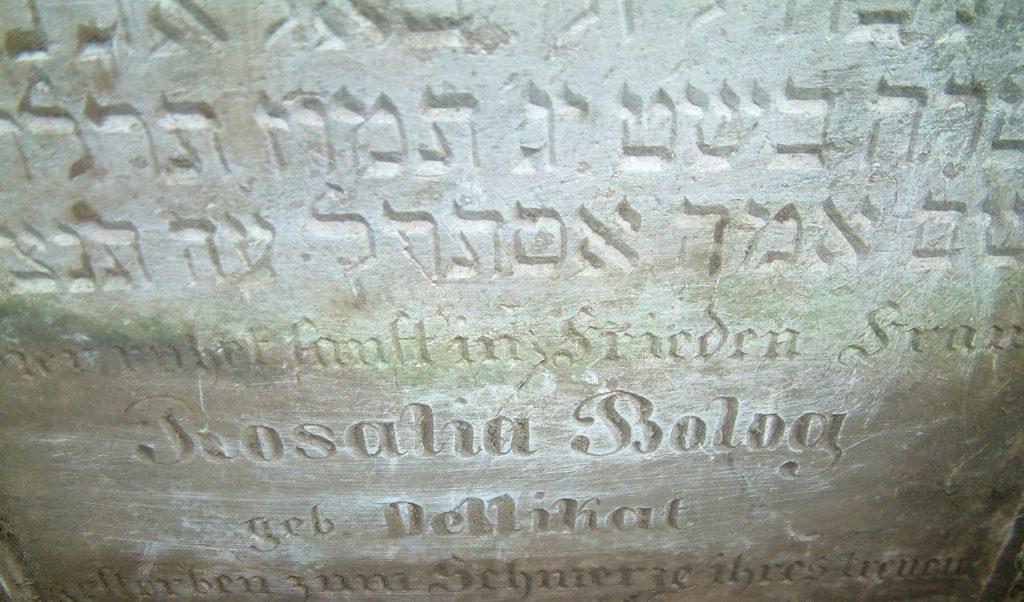 Miről árulkodnak a zsidó temetők sírfeliratai?