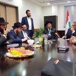 Orbán Viktor látogatást tett az izraeli főrabbinál