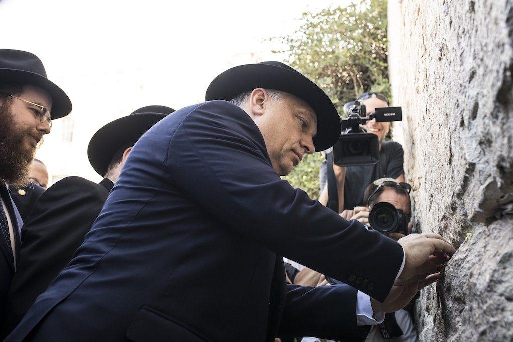 Zsidó szempontból Orbán kormánya közelít az ideálishoz az EMIH egyik rabbija szerint