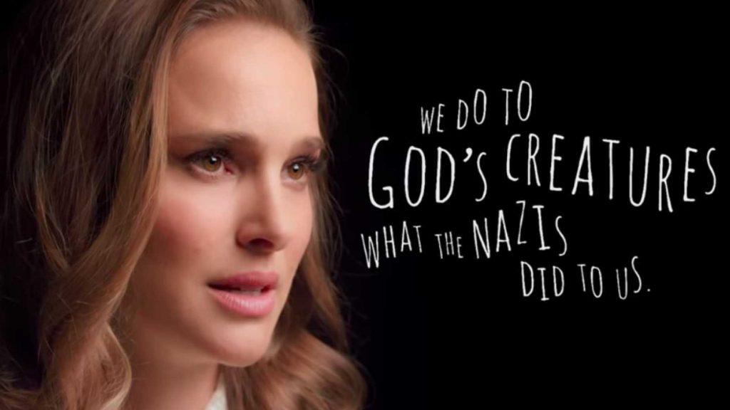 """""""Ugyanazt tesszük Isten teremtményeivel, amit a nácik tettek velünk"""""""