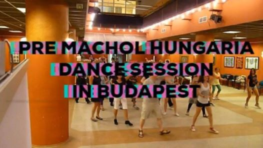Machol Hungaria afterparty dance session in Budapest