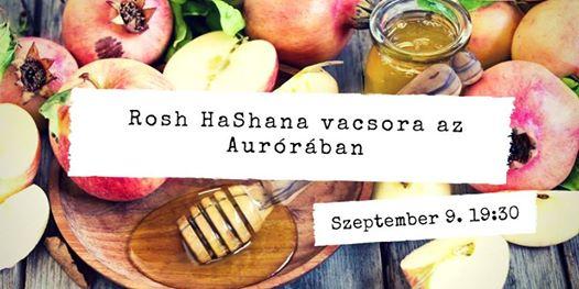 Rosh HaShana Vacsora