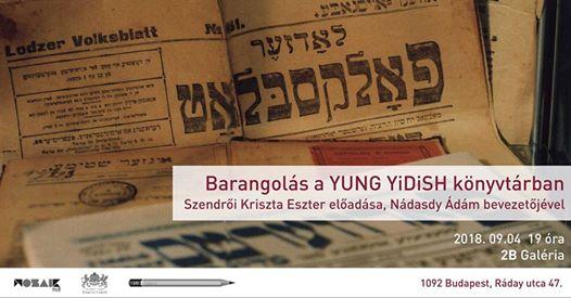 Barangolás a Yung YiDiSH könyvtárban
