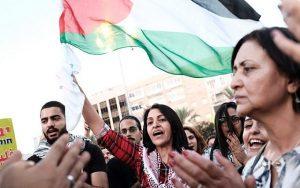Tömegek tiltakoztak a nemzetállami törvény ellen Izraelben