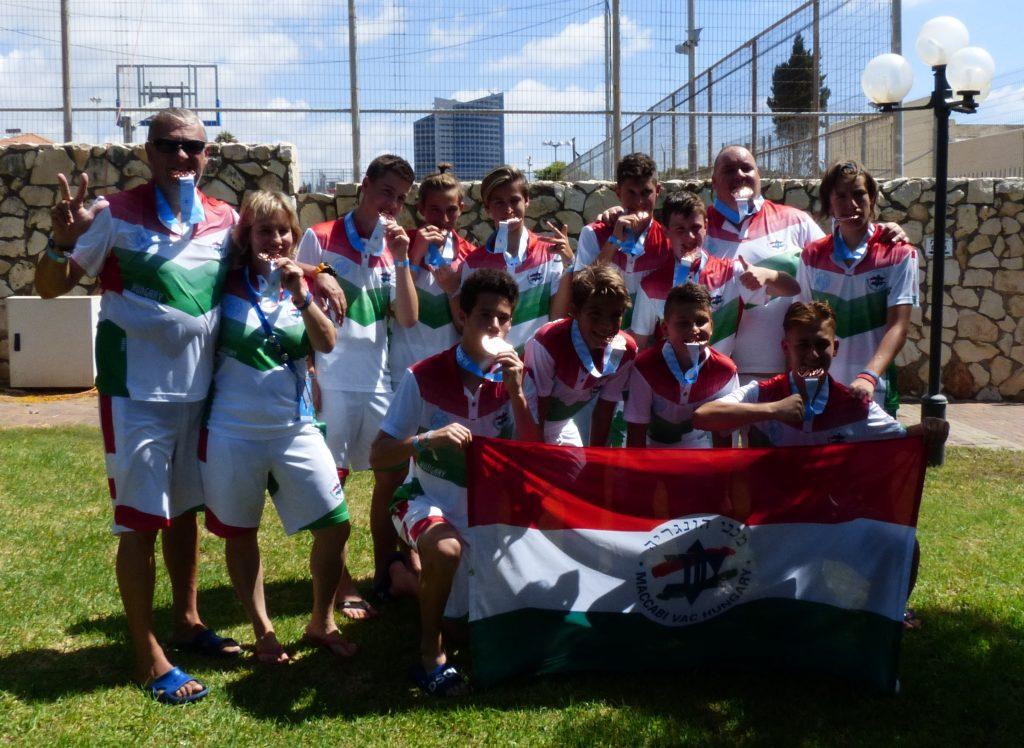 A Maccabi VAC Magyar Delegációja részt vett a 2018.-as Maccabi Youth Games eseményein