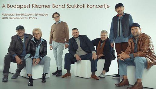 A Budapest Klezmer Band Szukkoti koncertje