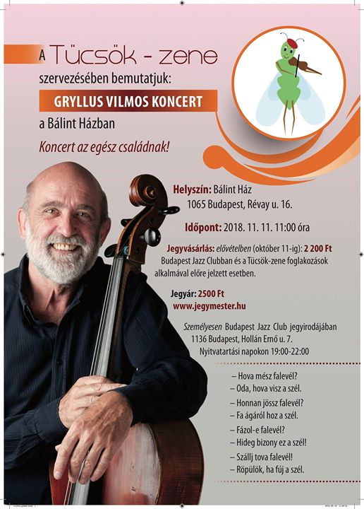 Gryllus Vilmos koncert