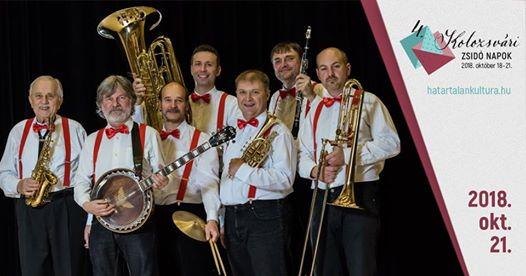 Dixieland és Klezmer – Debrecen Dixieland Jazz Band koncert