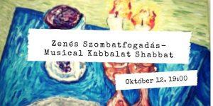 Zenés Szombatfogadás a Dor Hadas közösséggel