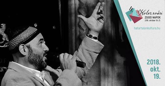 A zsidó zene gyöngyszemei – Nógrádi Gergely főkántor koncertje